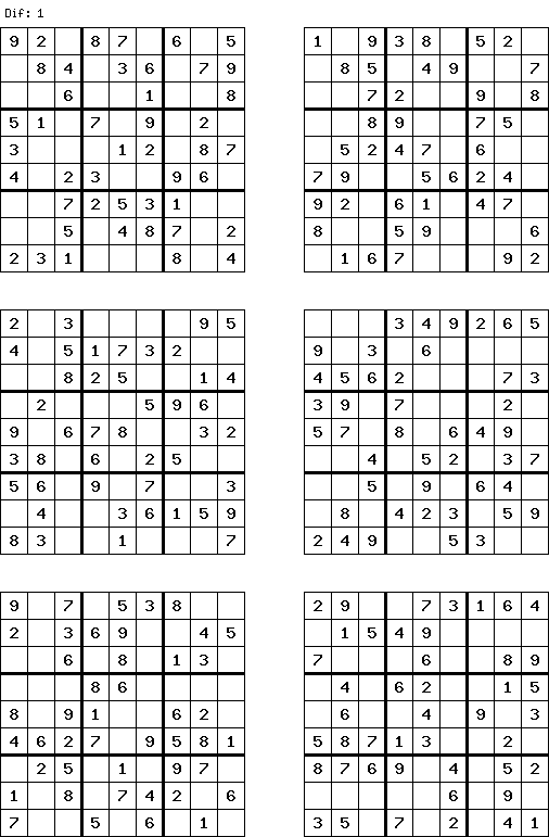 Very Easy Free Sudoku Free And Printable Sudoku Puzzles