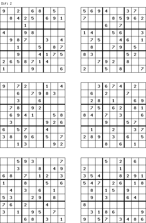 Easy Free Sudoku Free And Printable Sudoku Puzzles